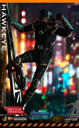 Figurine Hawkeye Deluxe Version Hot Toys
