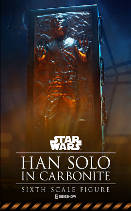 Figurine Han Solo in Carbonite
