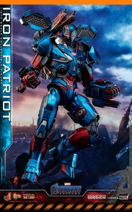 Figurine Iron Patriot Hot Toys