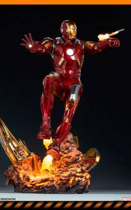 Figurine Iron Man Mark VII Sideshow