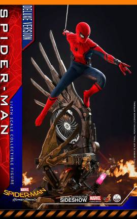 Figurine Spider-Man Deluxe Version Hot Toys