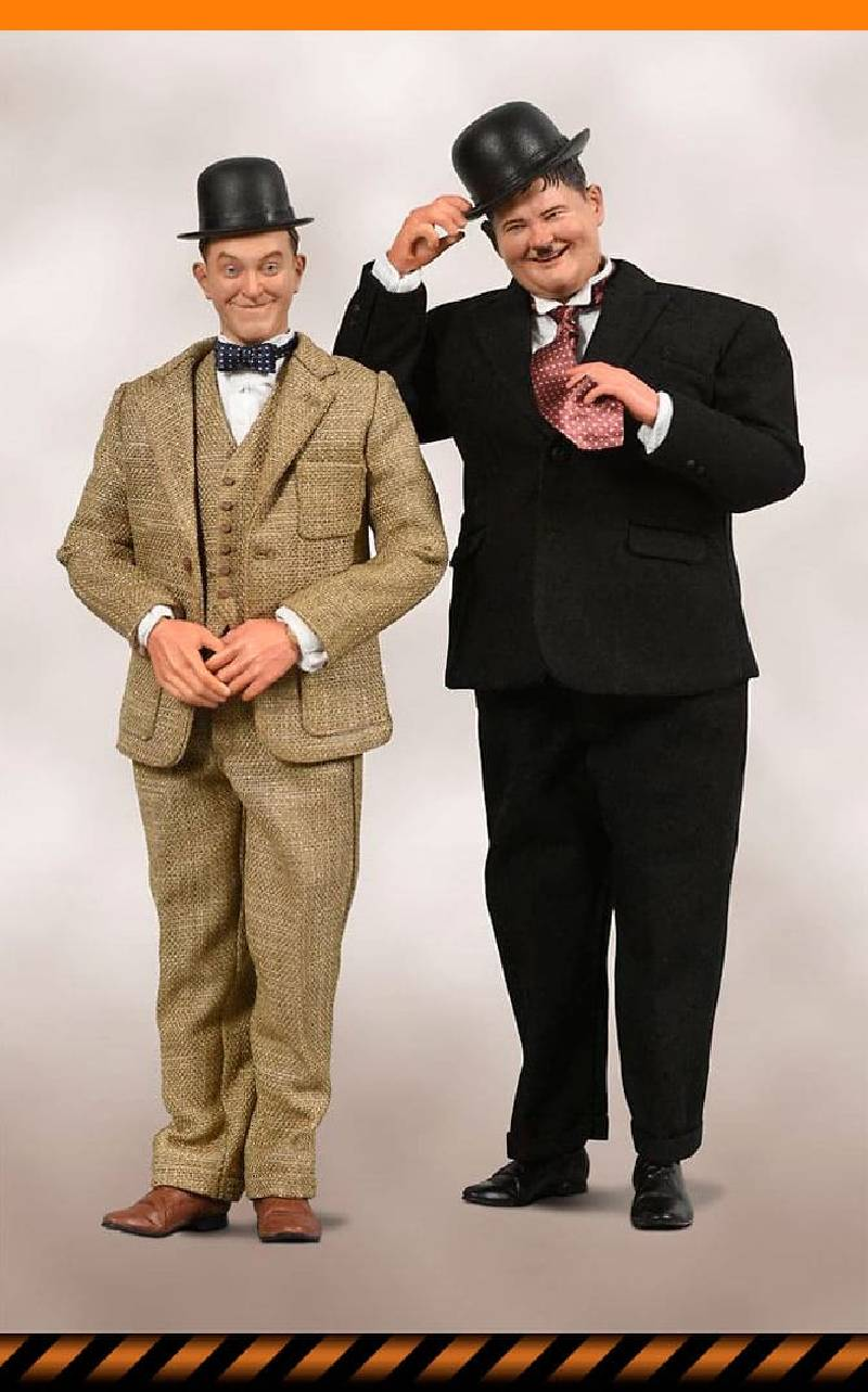 Figurine Laurel & Hardy Limited Edition BIG Chief Studios