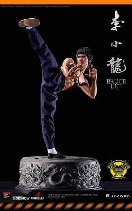 Figurine Bruce Lee 80th Anniversary Tribute Blitzway