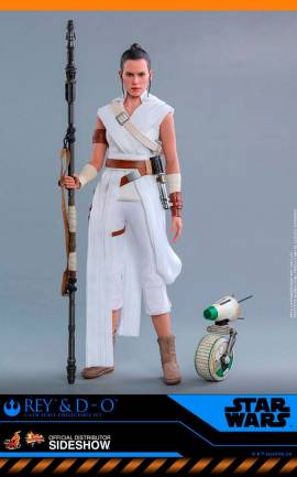 Figurine Rey & D-O Hot Toys