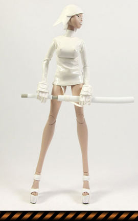Figurine Call Echo Saigo White