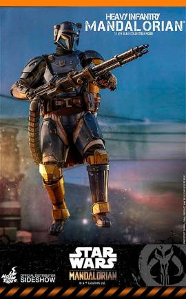 Figurine Heavy Infantry Mandalorian Hot Toys