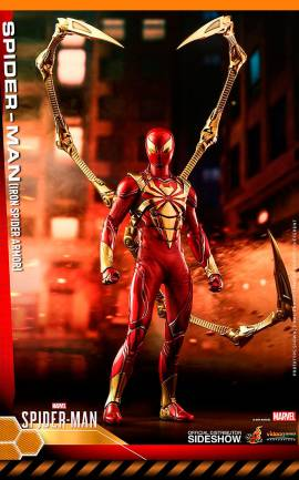 Figurine Spider-Man (Iron Spider Armor) Hot Toys