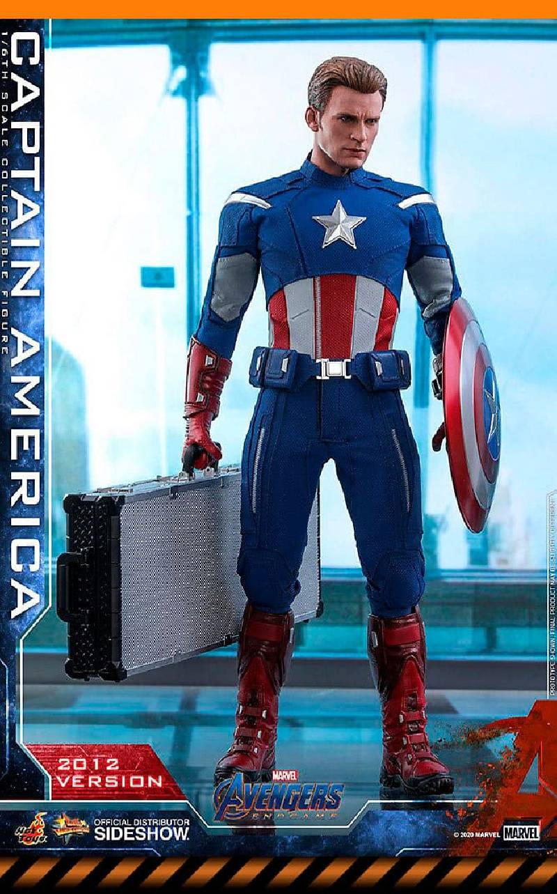 Figurine Captain America (2012 Version) Hot Toys