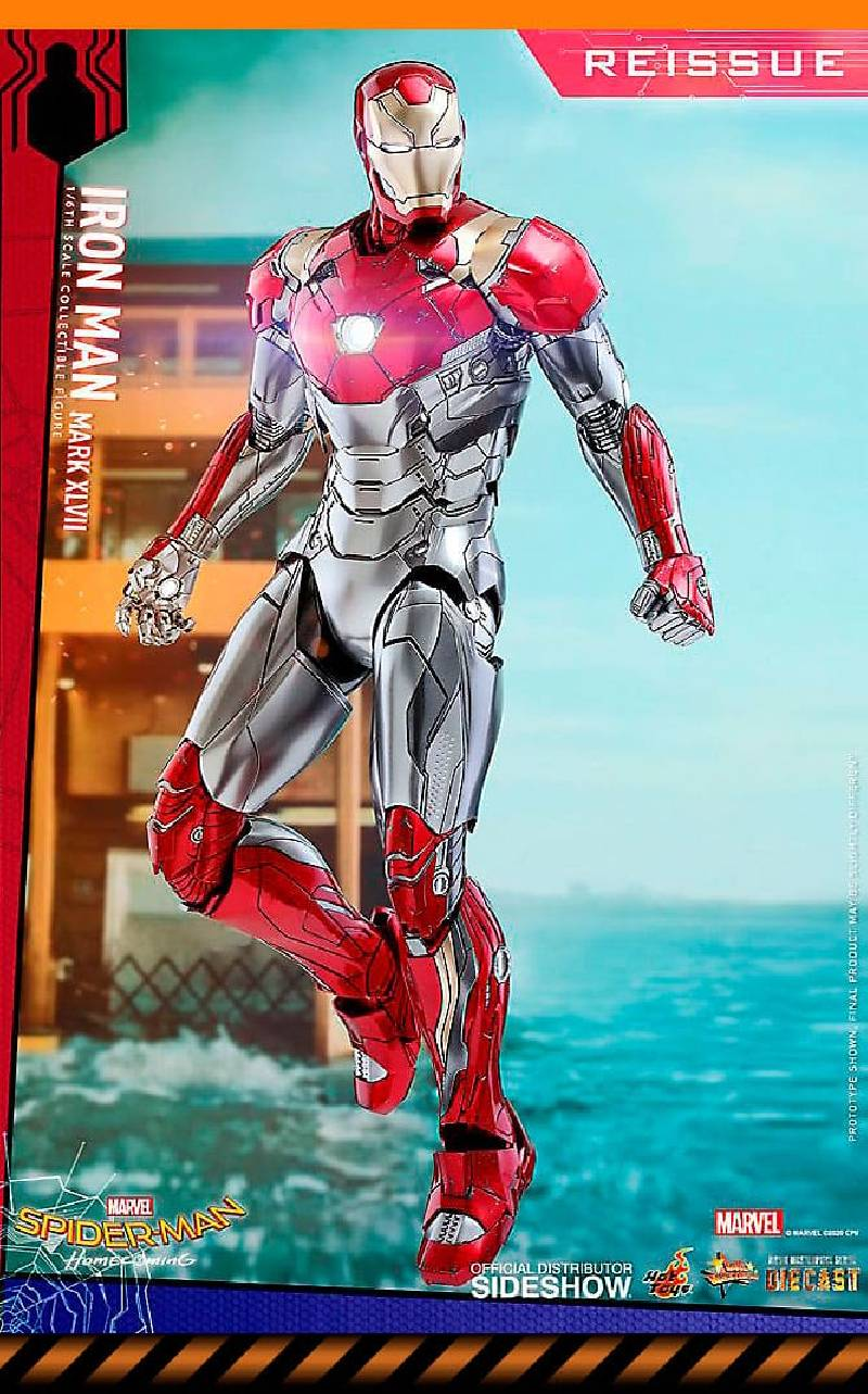 Figurine Iron Man Mark XLVII Reissue Hot Toys