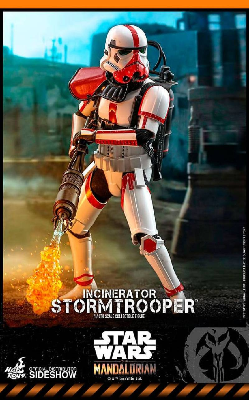 Figurine Incinerator Stormtrooper Hot Toys