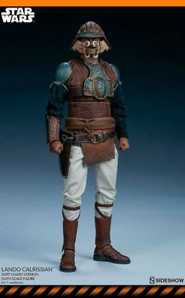 Figurine Lando Calrissian (Skiff Guard Version) Sideshow