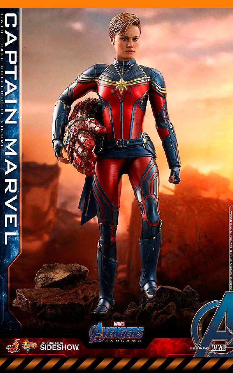 Figurine Captain Marvel Hot Toys
