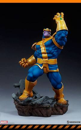 Figurine Thanos (Classic Version) Sideshow