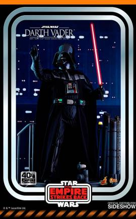 Figurine Darth Vader 40th Anniversary Collection Hot Toys