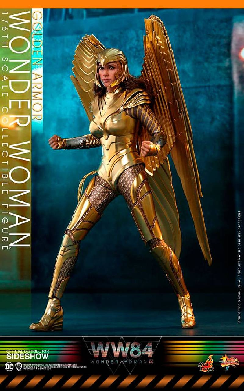 Figurine Golden Armor Wonder Woman Hot Toys