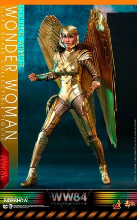 Figurine Golden Armor Wonder Woman (Deluxe) Hot Toys