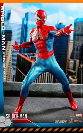 Figurine Spider-Man (Spider Armor MK IV Suit) Hot Toys