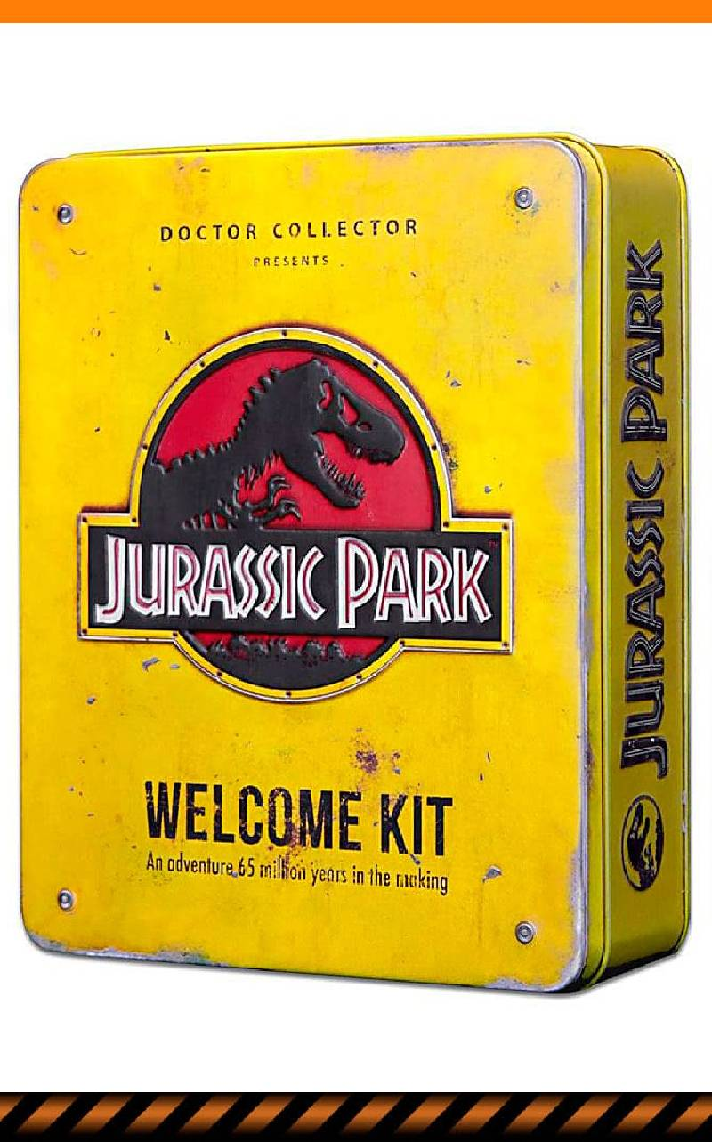 Jurassic Park Welcome Kit Doctor Collector