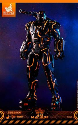 Figurine Neon Tech War Machine Hot Toys
