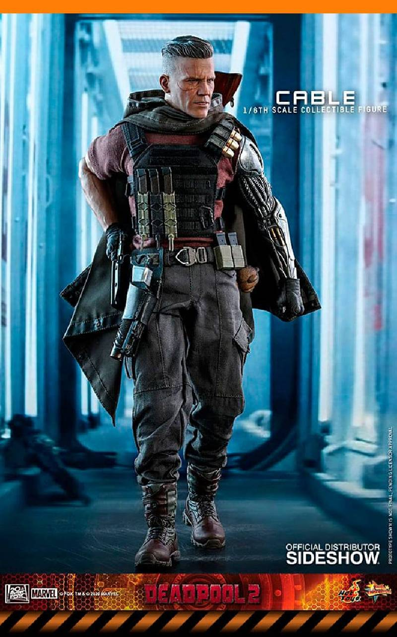 Figurine Cable Hot Toys