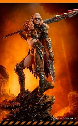 Figurine Dragon Slayer: Warrior Forged in Flame Sideshow