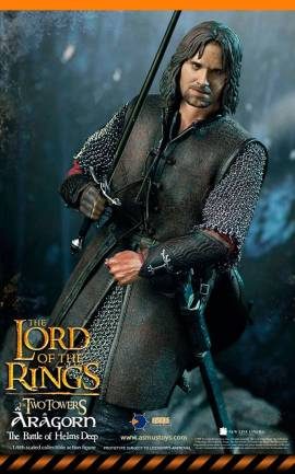 Figurine Aragorn at Helm's Deep Asmus toys