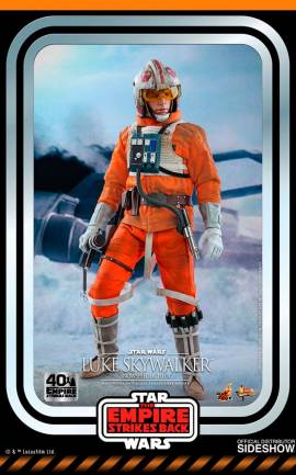 Figurine Luke Skywalker (Snowspeeder Pilot) Hot Toys