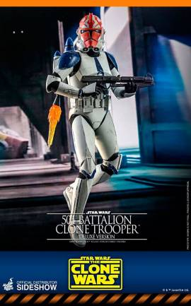 Figurine 501st Battalion Clone Trooper (Deluxe) Hot Toys