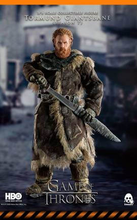 Figurine Tormund Giantsbane ThreeZero