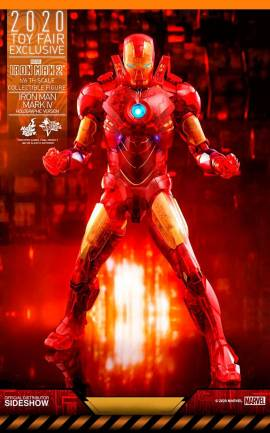 Figurine Iron Man Mark IV (Holographic Version) 2020 Toy Fair Exclusive Hot Toys