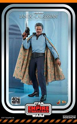 Figurine Lando Calrissian 40th Anniversary Collection Hot Toys