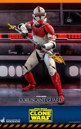Figurine Coruscant Guard Hot Toys