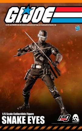 Figurine Snake Eyes ThreeZero