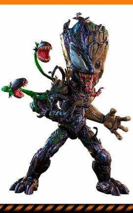 Figurine Venomized Groot Hot Toys