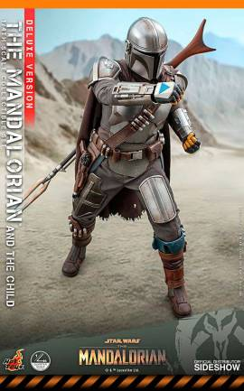 Figurine The Mandalorian & The Child Deluxe Version 1/4 Hot Toys
