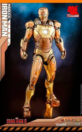 Figurine Iron Man Mark XXI Midas Exclusive Hot Toys