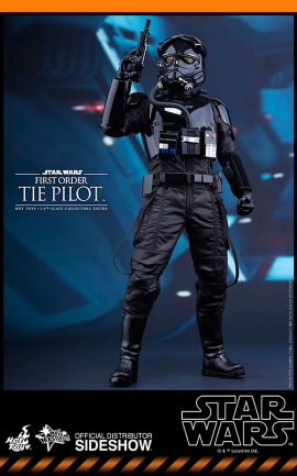 Figurine First Order TIE Pilot Hot Toys