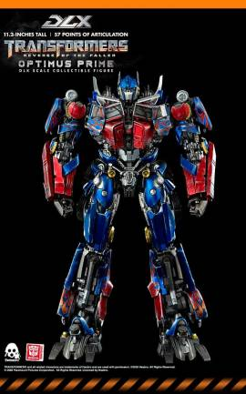 Figurine Optimus Prime ThreeZero