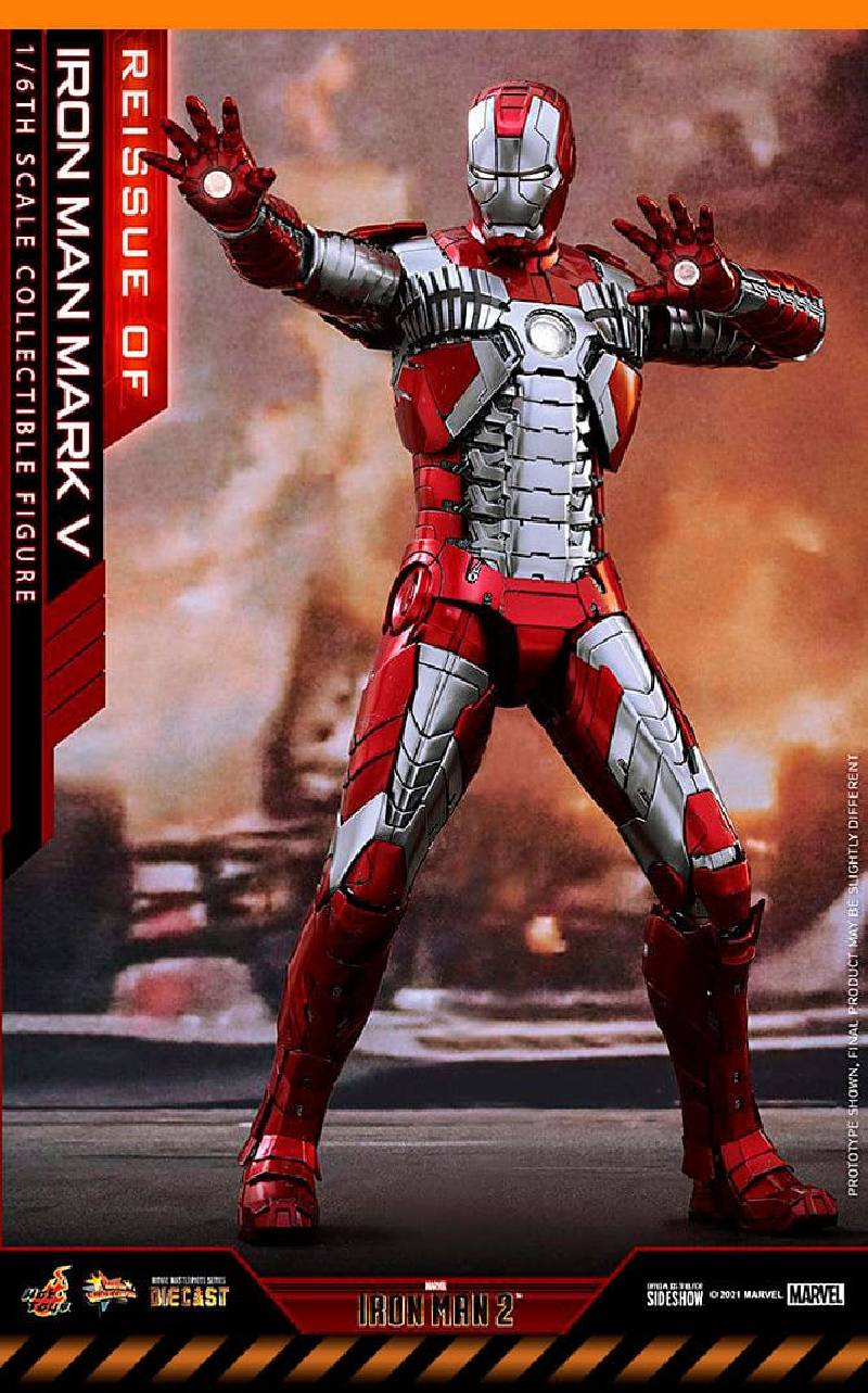 Figurine Iron Man Mark V Hot Toys