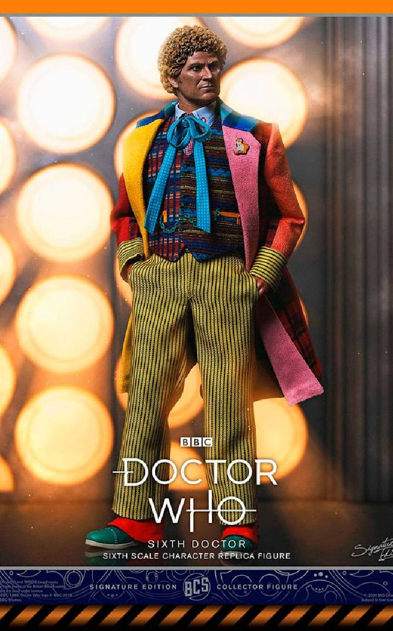 Figurine Doctor (Colin Baker) Limited Edition BIG Chief Studios