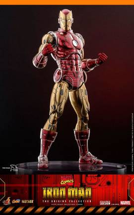 Figurine Iron Man (The Origins Collection Comic) Hot Toys