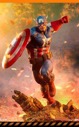 Figurine Captain America Sideshow Collectibles