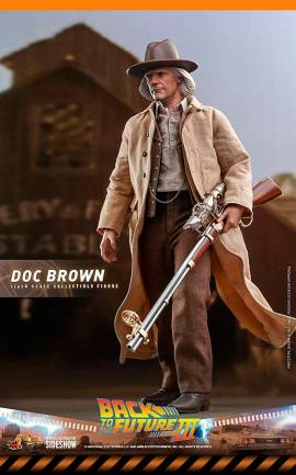 Figurine Doc Brown Hot Toys