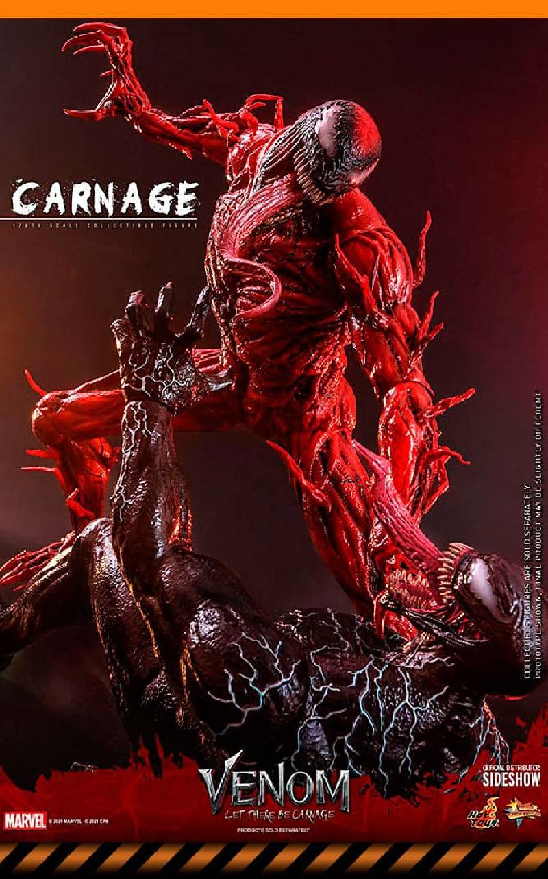 Figurine Carnage Deluxe Ver. Hot Toys