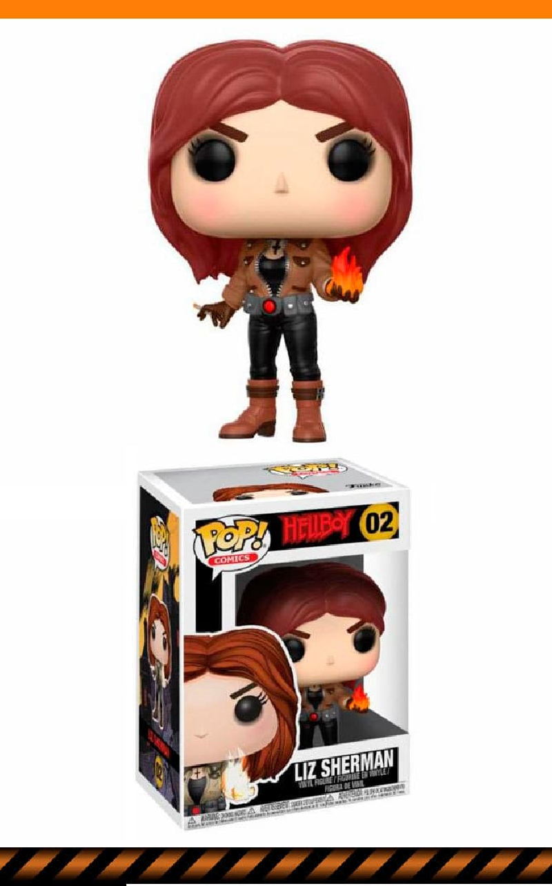 Figurine Liz Sherman Wastoys