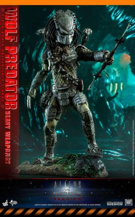 Figurine Wolf Predator (Heavy Weaponry) Hot Toys