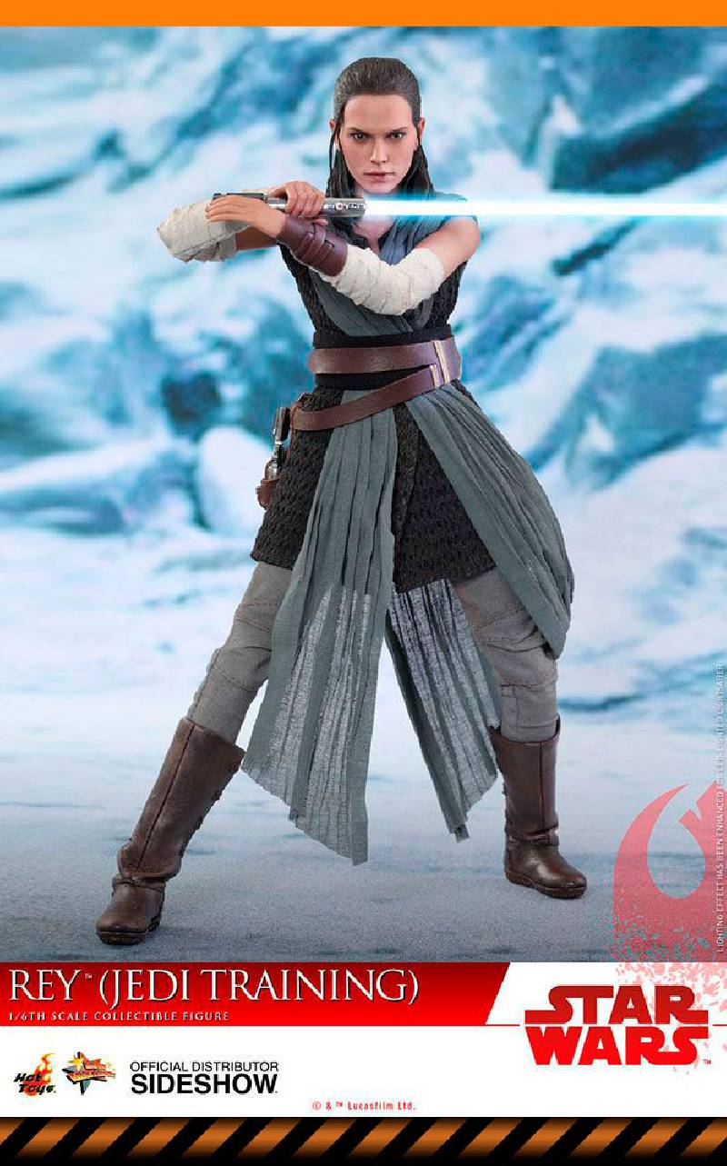 Figurine Rey Jedi Training Hot Toys