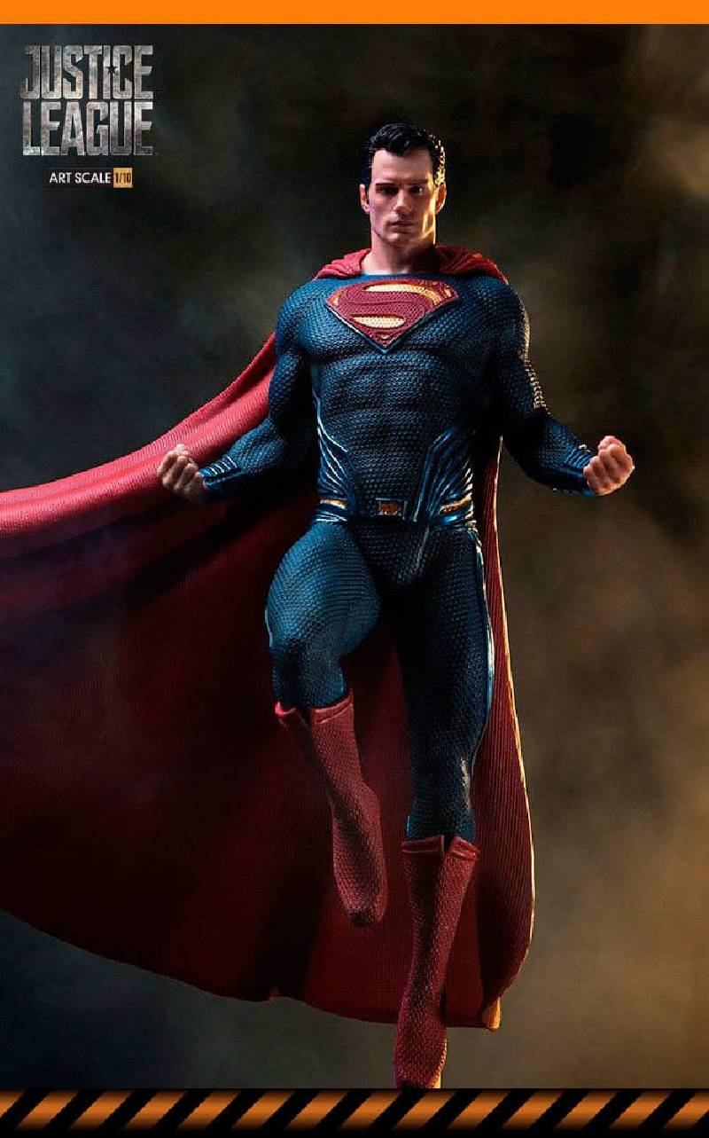 figurine superman iron studios