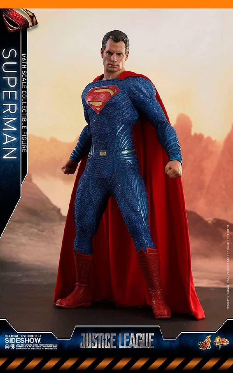 Figurine Superman JL Hot Toys