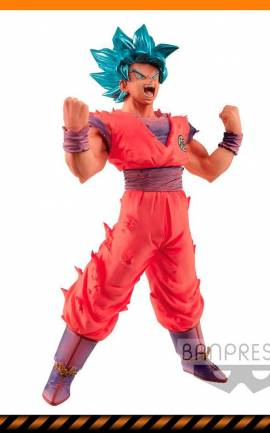 Figurine Son Goku Ver. Super Saiyan Blue Banpresto